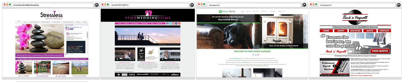 YPod Media Web Design Glasgow Scotland Examples