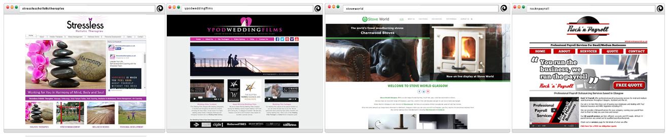 YPod Media Web Design Glasgow Scotland Examples
